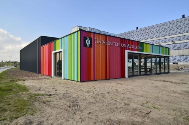 UvA Sciencepark Bureau in aanbouw 01