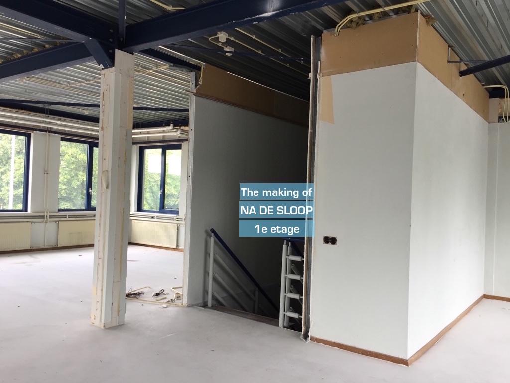 Rode kruis den haag bureau in aanbouw for M2 trap berekenen